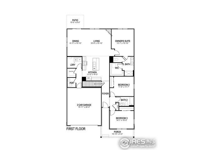 500 Buckrake St Severance, CO 80550 - MLS #: 856644