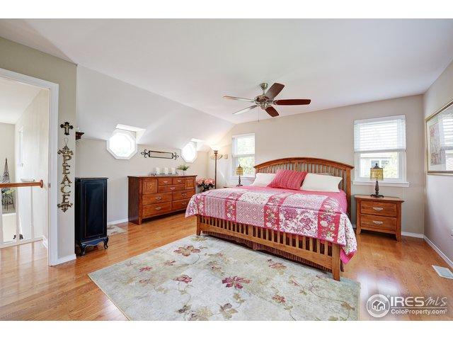 Master bedroom has Mtn and lake views