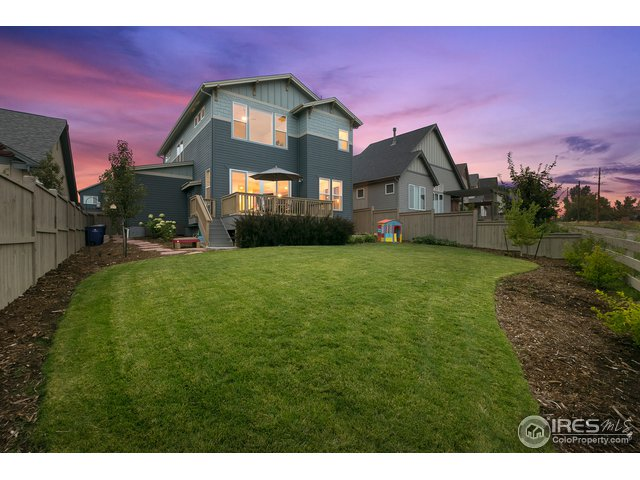 Spacious backyard, professionally landscaped