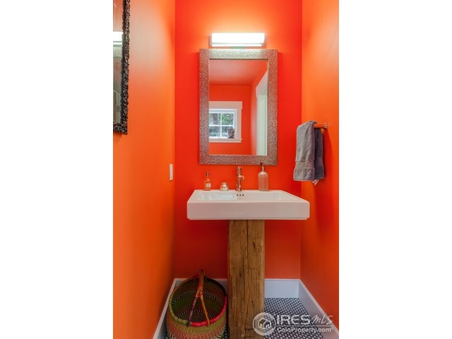 Vibrant Powder Room
