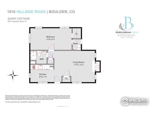Guest Cottage Floorplan