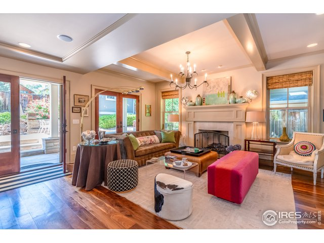 Living Room Opens to Covered Patio
