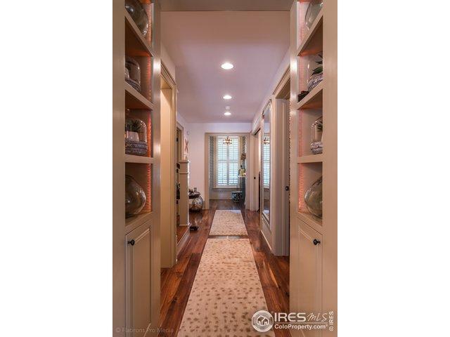 Hallway with Custom Built-Ins