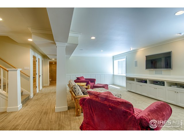 Large finished basement