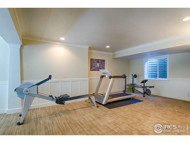 Large basement - exercise area
