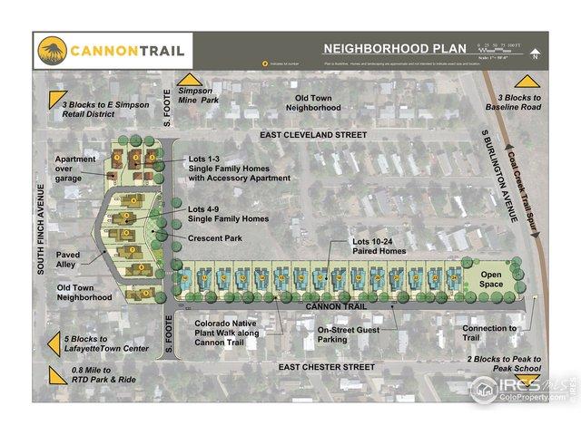 Cannon Trail Site Plan