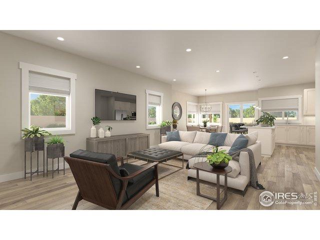 Open Living Room Floorplan