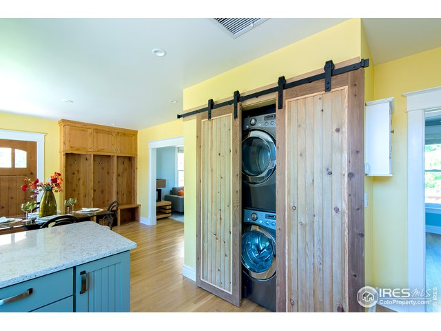 custom barn doors for laundry/mechanics
