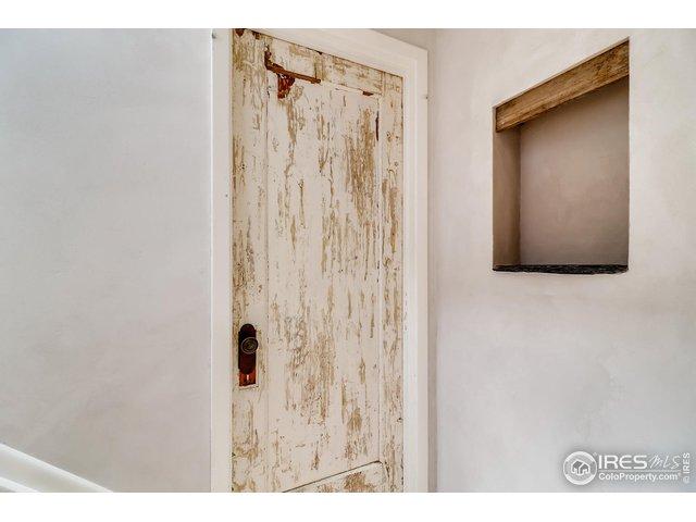 Rustic Door detail to Master BR