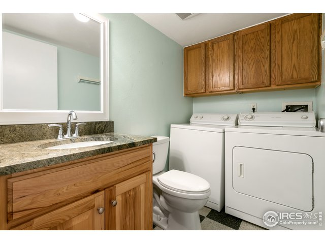 Main Floor 1/2 Bath and Laundry