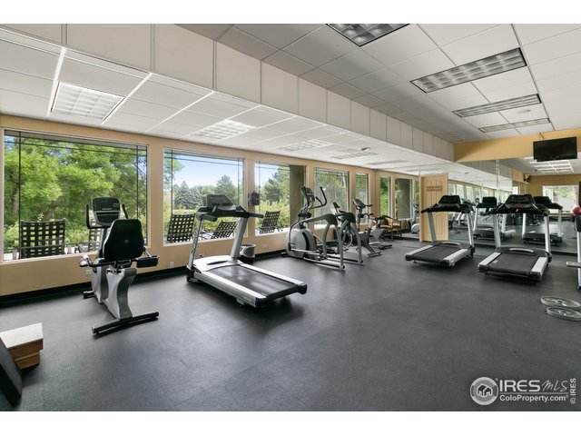 Clubhouse Fitness Center included in HOA