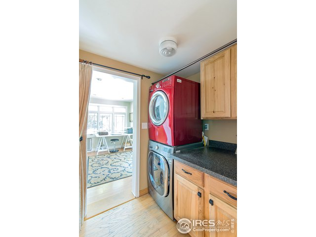 Laundry room off of kitchen. CONVENIENT!