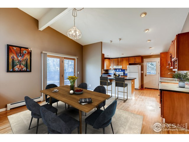 Dining/Kitchen Virtually Staged