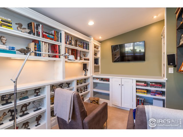 Bedroom Three with Extensive Built-Ins