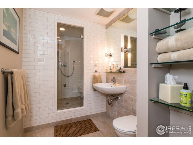 Lower Level Luxe Bath with Steam Shower