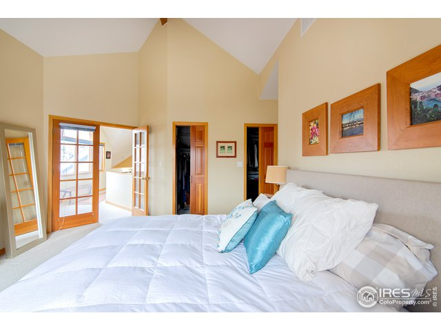 1/2 floor up from other bedrooms=privacy!