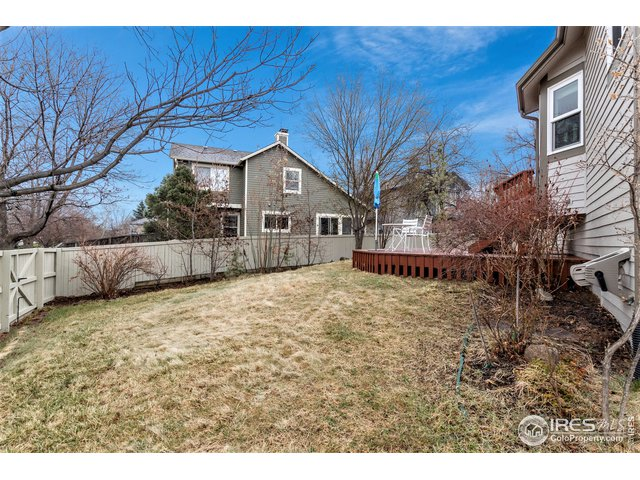 fully fenced yard, great for pets