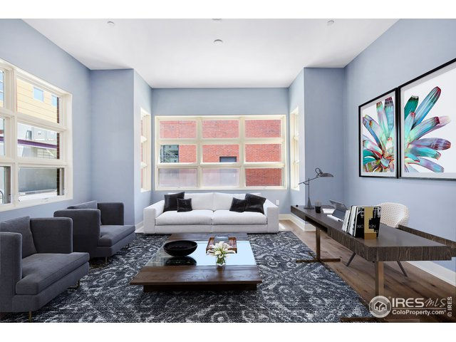 Staged as Family room