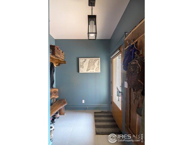 Mud room with custom woodwork!
