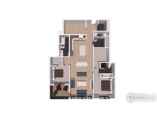 Unit 305 Floor Plan