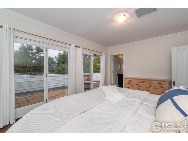 Master Bedroom opens to private patio