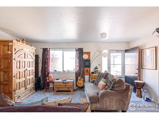 unit 3 living room to front door