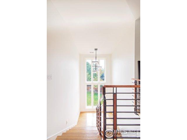 Custom railings highlight staircase