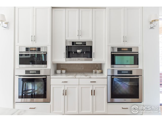 Miele appliances: double ovens & espresso machine