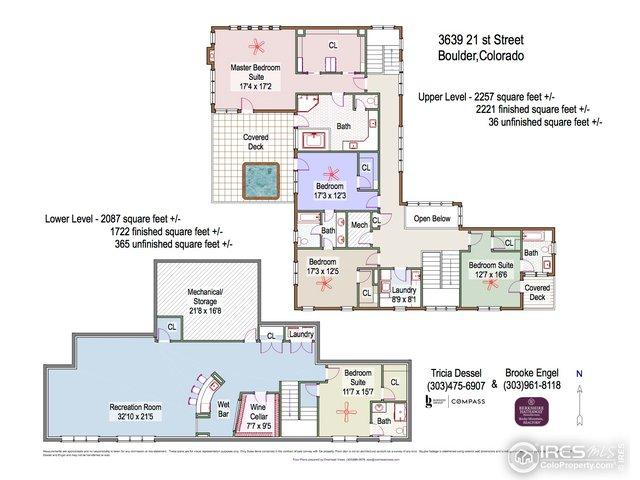 Floor Plan: Upper & Lower Level