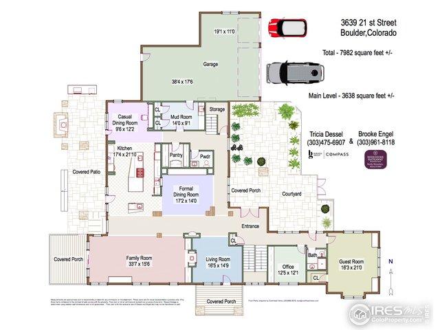 Floor plan: Main Level