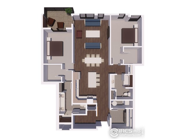 Unit 302 Floor Plan